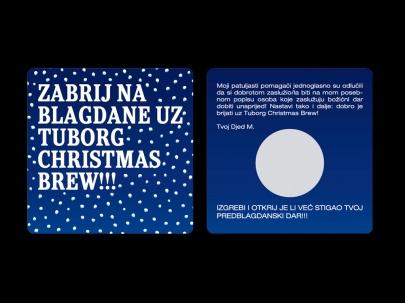 Tuborg Christmas brew skrečica